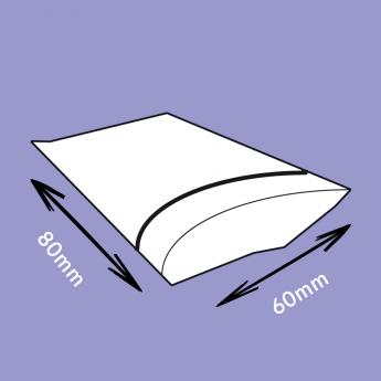 Sachets flexi-pression transparent 60x80 mm