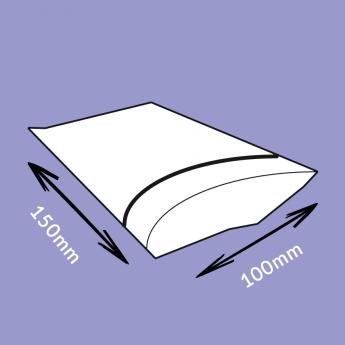 Sachets flexi-pression transparent 100x150 mm