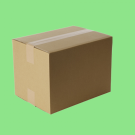Caisse carton simple cannelure 220x160x130mm