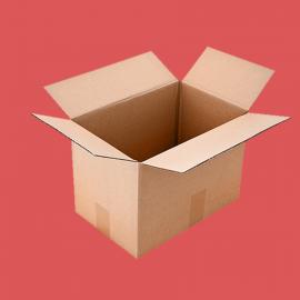 Caisse carton double cannelure 300x300x200mm