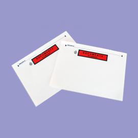 POCHETTES DCI DOCUMENTS CI-INCLUS 225X165MM a4 plie en 2