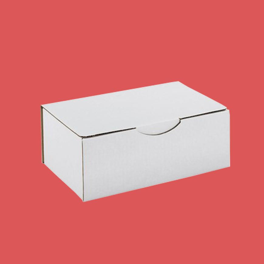 boite postale blanche 310x215x50mm. Black Bedroom Furniture Sets. Home Design Ideas
