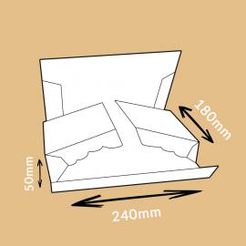 Boîte postale mousse 240x180x50mm