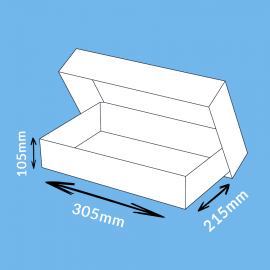Boite télescopique 305x215x105mm (a4)