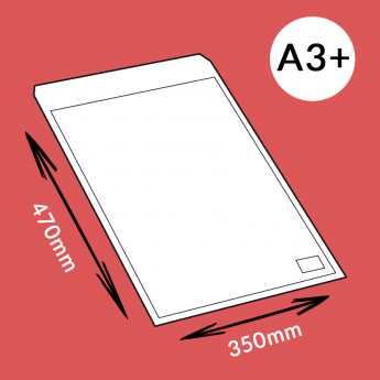 Enveloppe à bulles 350x470mm (A3+)