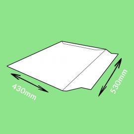 Pochette carton adhésive 530x430mm