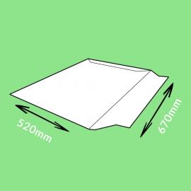 Pochette carton adhésive 670x520mm
