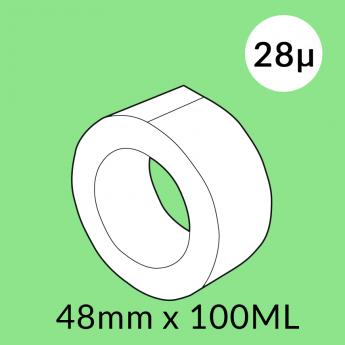 Ruban adhésif transparent PP acrylique