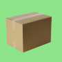 Caisse carton simple cannelure 400x300x160mm