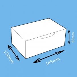 Boite postale brune 145x130x55mm