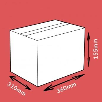Caisse carton double cannelure 360x310x155mm