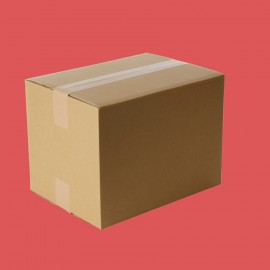 Caisse carton double cannelure 370x350x250mm