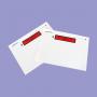 POCHETTES DCI DOCUMENTS CI-INCLUS 125X110MM A4 plié en 6