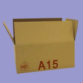 Caisse palettisable A15 - dimensions extérieures 300x200x200mm - BC
