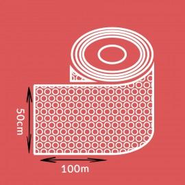 Film à bulles 10 mm en rouleau - Largeur 50cm - Longueur 100ML - 50µ