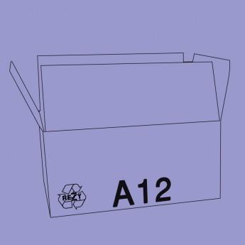 Caisse palettisable A12 - dimensions extérieures 400x300x300mm - BC