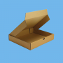 Boite postale brune 240x170x50mm