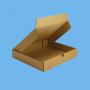 Boite postale brune 350x220x130mm