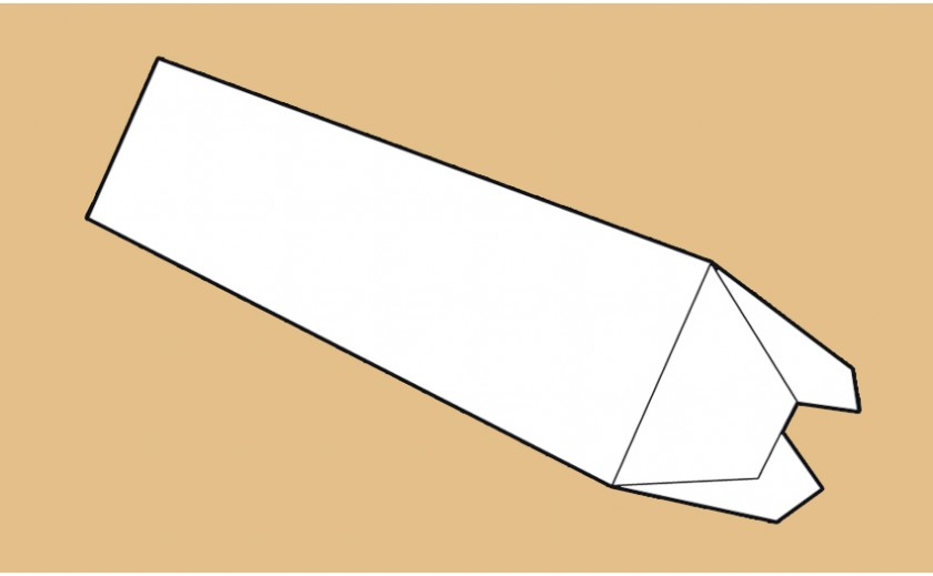 Tube triangulaire